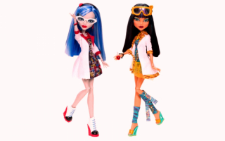 Куклы Гулия и Клео