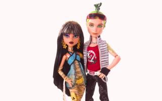 Куклы Клео и Дьюс
