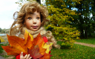 Кукла осень