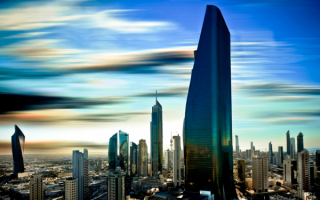 Alhamra Tower - небоскреб в Кувейте, высота 412 метров