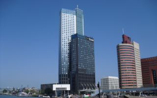 Башня Маас в Роттердаме
