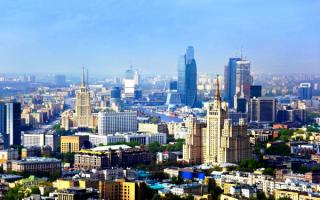 Московские небоскребы