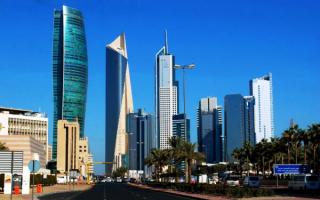 Небоскребы в Эль-Кувейте