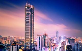 SEG Plaza - небоскреб высотой 356 метров, расположенный в Шэньчжэне, Китай