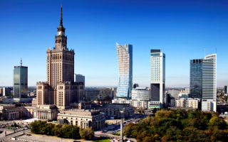 Небоскребы в Варшаве