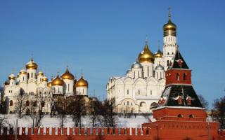 Соборы Москвы