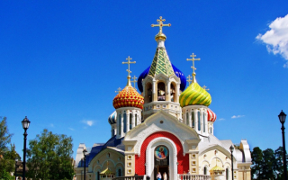 Храм святого князя Игоря Черниговского в Ново-Переделкино
