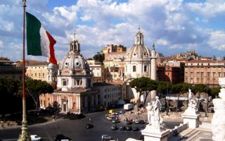 Столица Италии город Рим