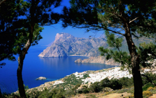 Греческий остров Карпатос в Эгейском море