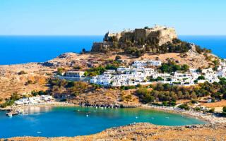Греческий остров Родос