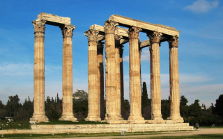 Древнейший Храм Зевса Олимпийского