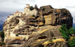 Монастырь Варлаама в Метеорах