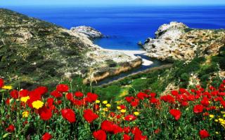 Побережье греческого острова Икария