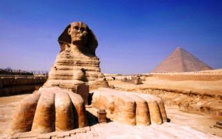 Египетский свинкс