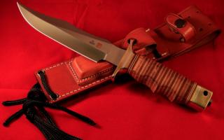 Охотничий нож AL MAR