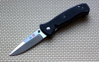 Складной нож AL MAR