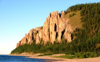 Ленские столбы - заповедник в Якутии