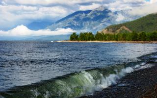 Россия, Байкал, красота