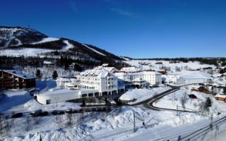 Отель Доктор Холмс в Гейло Норвегия
