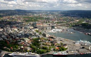 Столица Норвегии город Осло