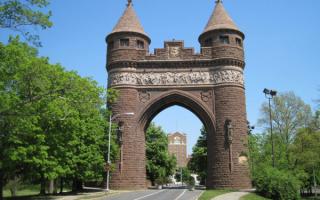 Мемориальная арка в Хартфорде