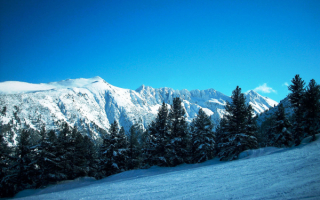 Зима в горах Болгарии