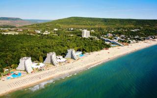 Черноморский курорт Албена в Болгарии