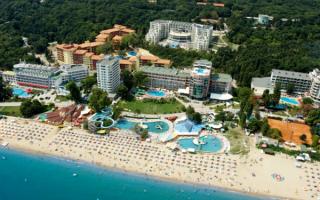 Отель Parkhotel Golden Beach на курорте Золотые пески
