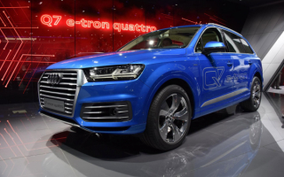 Audi Q7 e-tron 2015