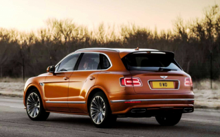 Bentley Bentayga Speed 2019