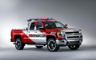 Chevrolet Silverado Z71 Volunteer Firefighter