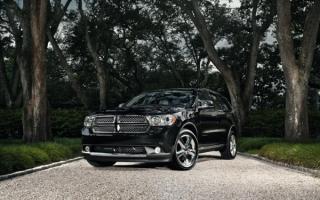 2012 Dodge Durango black / Додж Дуранго черный 2012