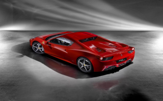 Ferrari 458 Spyder | Феррари 458 Паук вид сверху