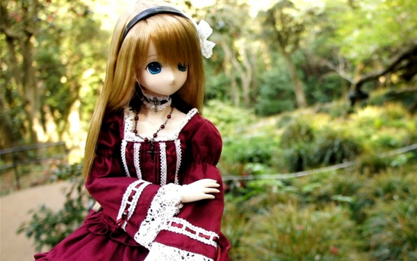 Картинка Кукла в платье » Куклы » Разные » Картинки 24 ...