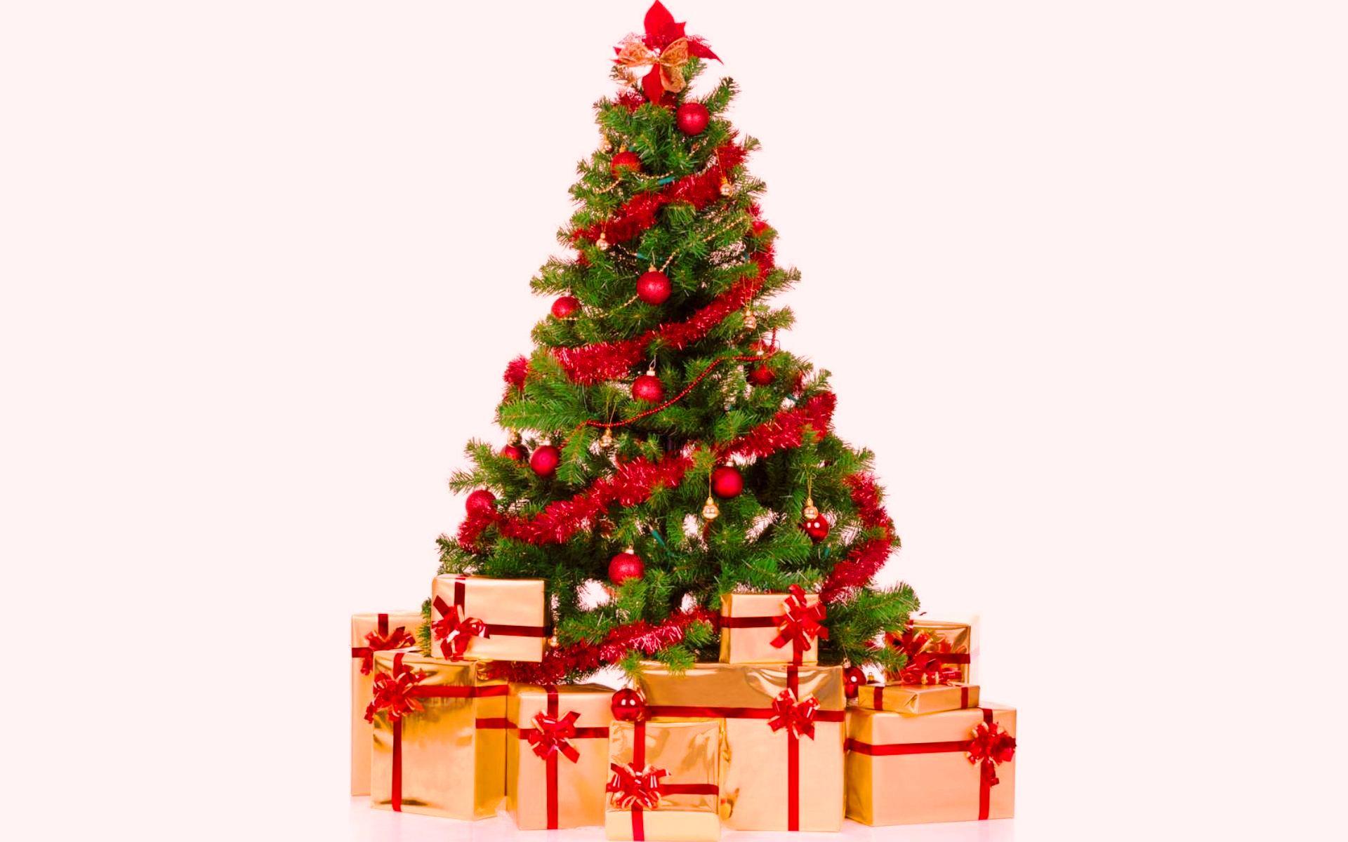 Картинка Елочка с подарками » Новый год » Праздники ...