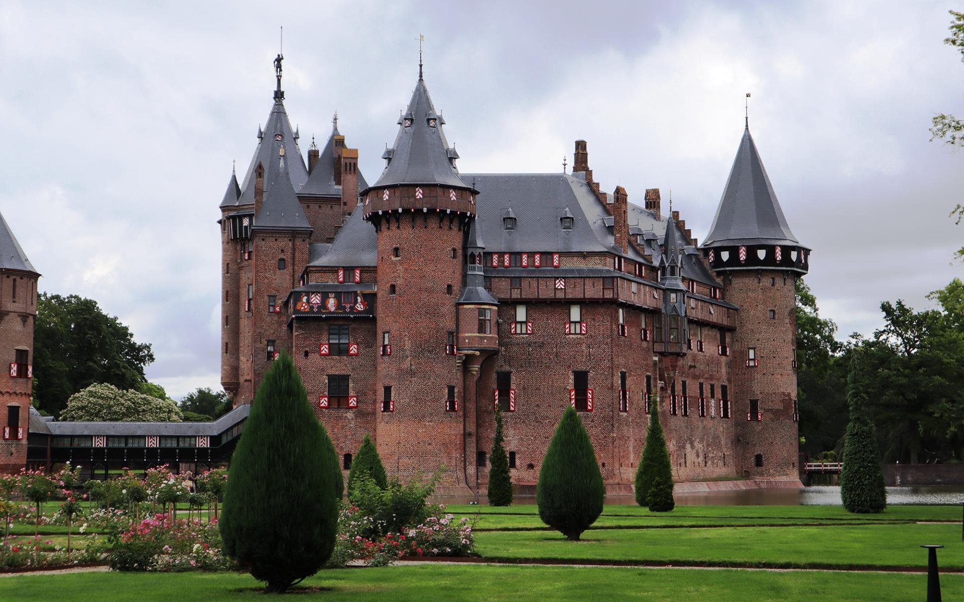 Обои нидерланды, замок, утрехт. Города foto 16