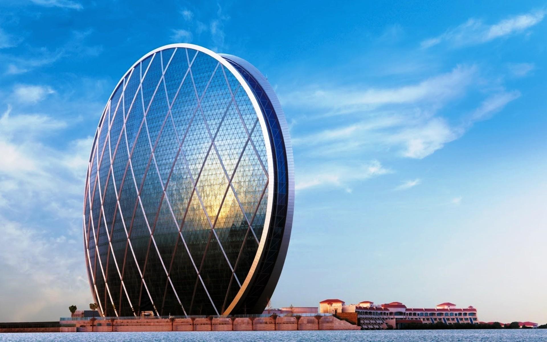 Картинка Небоскреб Aldar в Абу-Даби » Небоскребы » Архитектура » Картинки  24 - скачать картинки бесплатно