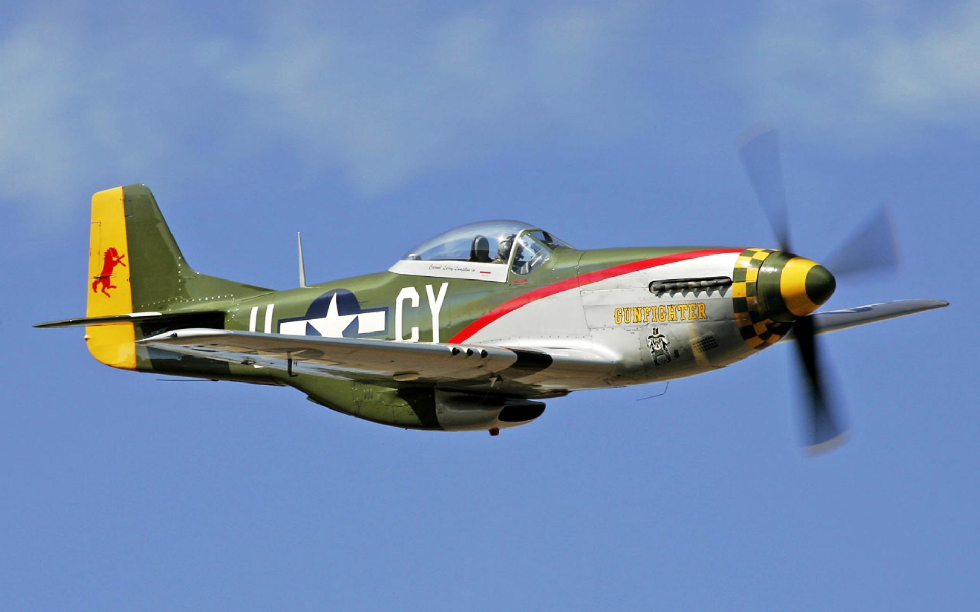 Обои дальний, одноместный, P-51c mustang, американский. Авиация foto 16