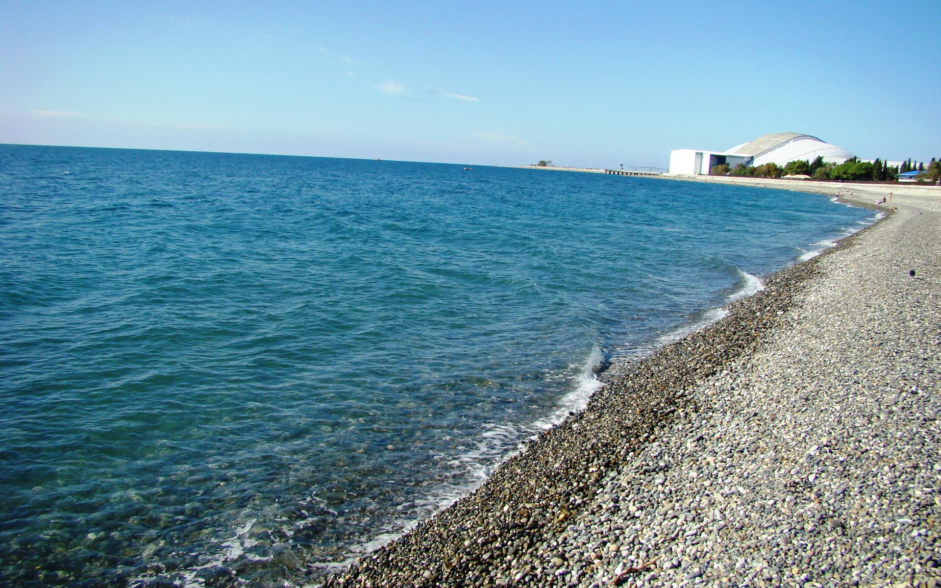 Картинка Пляж в Имеретинской бухте » Пляж » Природа » Картинки 24 ...
