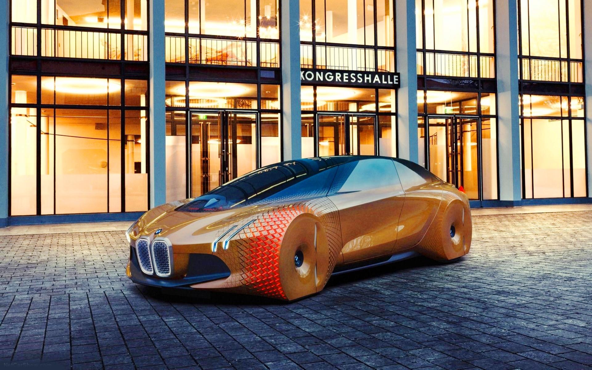 Картинка BMW Vision Next 100 » BMW   БМВ » Автомобили ...