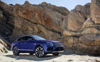 2016 Bentley Bentayga Luxury Diesel SUV